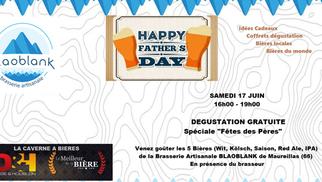 Caverne à bières Perpignan offre une Dégustation de bières Blaoblank le samedi 17 juin de 16h à 19h.