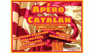 Dimas Perpignan organise un apéro catalan chaque vendredi en centre-ville.(® dimas)