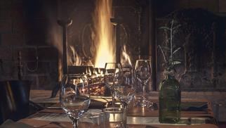 Le Mas Chabry Perpignan Restaurant présente sa carte d'hiver à découvrir au coin de la cheminée.(® le mas chabry)