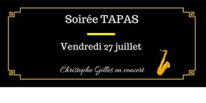 Michel Roger annonce une Soirée musicale le 27 juillet à Saleilles sur des notes Swing Jazz accompagnée de tapas Maison. Pensez à réserver.