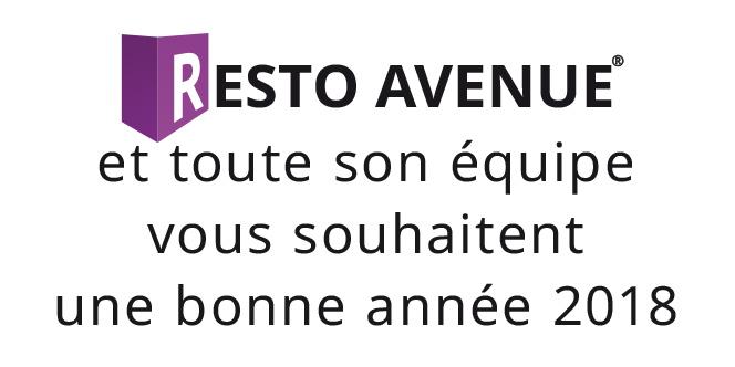 Resto-Avenue.fr Le guide des restaurants de Perpignan et des alentours vous présente ses meilleurs voeux pour l'année 2018 !