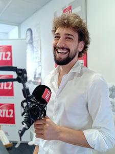 Robin est animateur de RTL2 à Perpignan sur 96.4 (® RTL2)