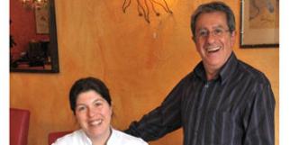 Joel de Castro dans son restaurant Al Catala dans la ville de Céret (crédits photos : networld – Stephane Delchambre)