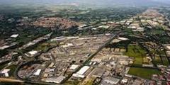 Vue aérienne de l'espace Grand Saint Charles de Perpignan (crédits photos: site www.pesc.fr)