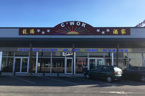 C WOK Claira est un restaurant asiatique autour de buffets froid et chaud.(® SAAM D Gontier)