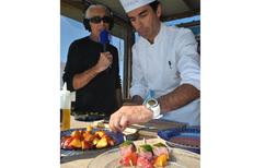 France Bleu Roussillon propose des émissions de cuisine avec un chef cuisinier (® radio france)