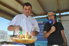 France Bleu Roussillon propose des émissions de cuisine en direct, même en extérieur ! (® radio france)