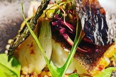 Le 17 Restaurant Perpignan où tout est fait maison, ici un plat de poisson spécialités de ce restaurant bistronomique (® le 17)