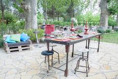 Mas Chabry Perpignan propose des tables en terrasse sur le chemin de la Carlette (® networld-aGuje)