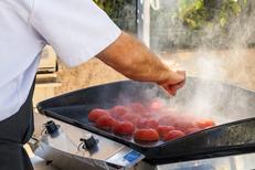 Michel Roger Saleilles est un restaurant de grillades avec viandes ou poissons et légumes à la plancha (® networld-Aguje)
