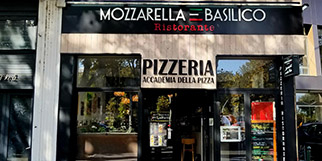 Mozzarella e Basilico Perpignan est un restaurant italien en centre-ville qui propose aussi des pizzas à emporter.